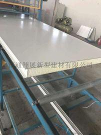 南通彩钢聚氨酯夹芯板 外墙保温pu聚氨酯板
