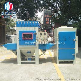 厂家供应600-6A输送式自动喷砂机喷砂设备