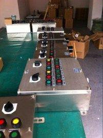 不鏽鋼掛式三防操作箱FZC-G-A2K1G防水防塵防腐操作柱2燈1開關