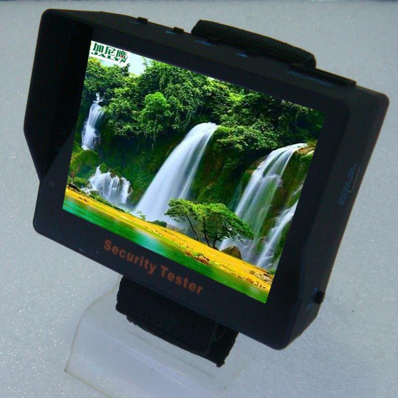 3.5寸車載顯示器/液晶監視器/遮陽板/野外監控/迷你/自帶電池/工程寶