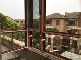 南京金刚网防盗窗+断桥铝门窗中空安全玻璃窗