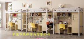 学校学生宿舍连体多功能公寓床批发