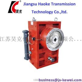 江苏省齿轮箱生产厂家 齿轮箱 ZLYJ112塑料挤出机齿轮箱