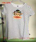 大嘴猴夏季新款T恤批发厂家女式夏季短袖上衣圆领休闲