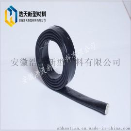 大量供应工程用穿墙防火套管厂家价格 耐高温套管 硅橡胶 黑