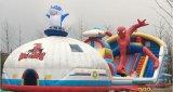 邯郸广场大型充气滑梯蹦蹦床 充气城堡乐园生产厂家