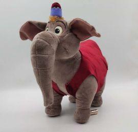 廠家來樣定製加工小牛毛絨玩具公仔 企業吉祥物布娃娃定做