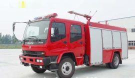 湖北润力 五十铃7吨水罐消防车