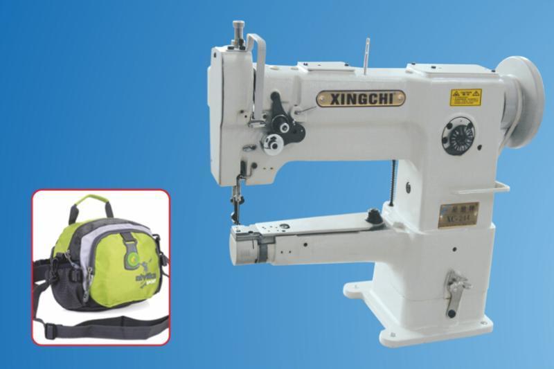 供应东莞市星驰牌XC-244小嘴高车 筒型高头车 钱包厂缝纫机