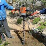大型挖坑机图片 小型轻便汽油植树打坑机y2