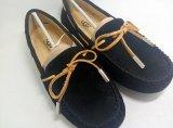 焦作UGG女鞋單鞋春季時尚休閒低幫鞋純色平跟豆豆鞋