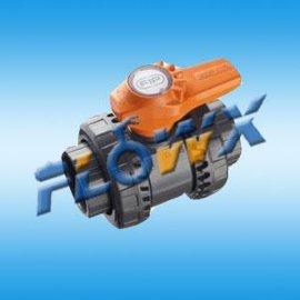 手动UPVC塑料球阀 弗雷西进口PVC球阀
