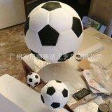 世界杯足球泡沫雕塑泡沫卡通动物雕塑厂家 大型泡沫雕塑足球道具