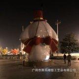 春节商场美陈摆件定制 玻璃钢狗年吉祥物 大型商场活动主题定制