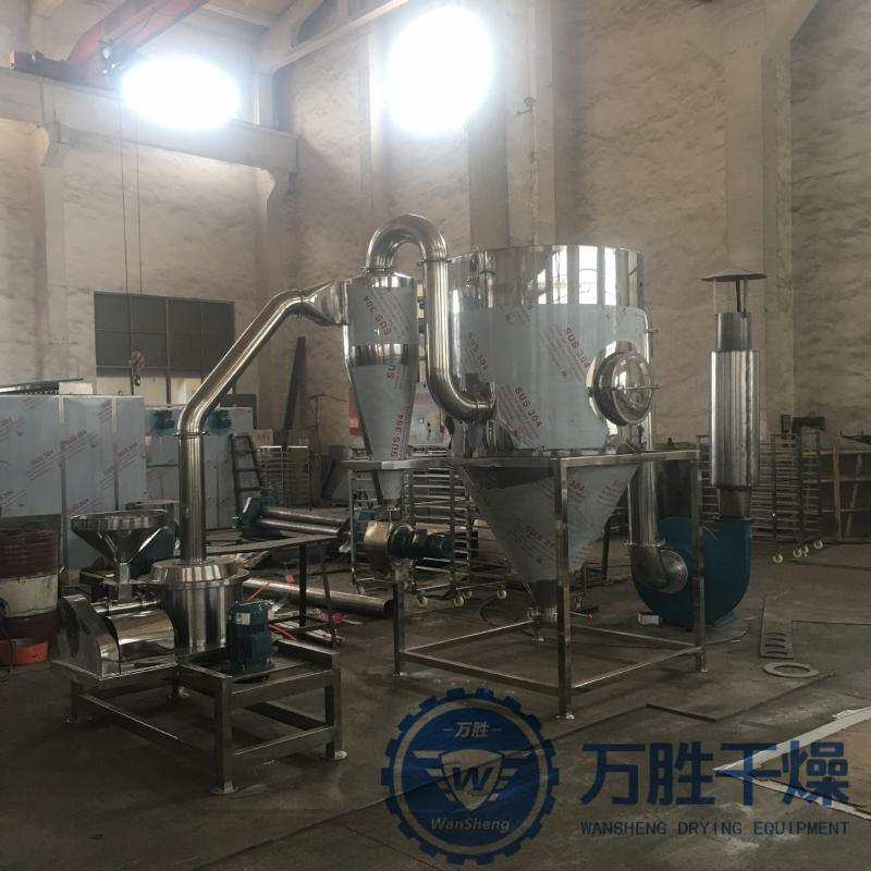 红参丹参中药材粉碎农副产品粉碎机WFJ低温超微粉碎机人参磨粉机