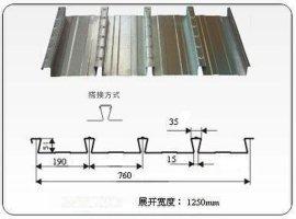 燕尾式楼承板(YX51-190-760)