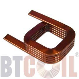 厂家直销扁平线圈 自粘线圈 空芯线圈 电感线圈