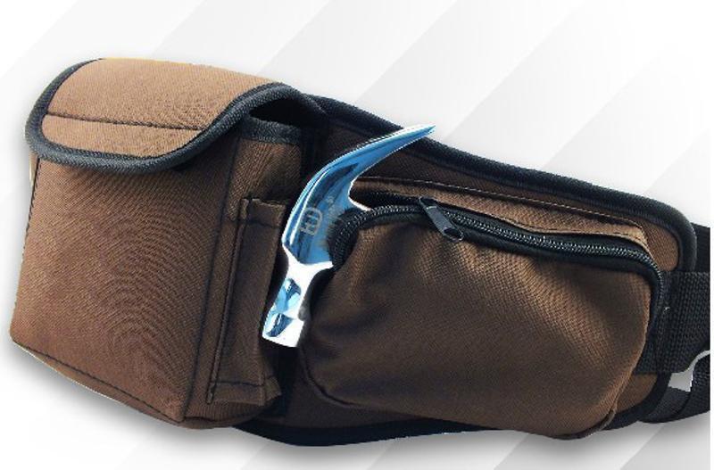 电工工具包加厚耐磨五金工具包防水电工腰包多功能定制印LOGO