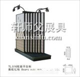 建材店展示架浴室3D陶瓷地板磚純白色大理石瓷磚擺放架