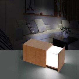 潘多拉魔盒音乐小夜灯 低音炮创意木盒多功能迷你蓝牙音响