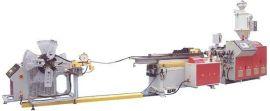 福田机械PP/PE/PVC单壁波纹管生产线