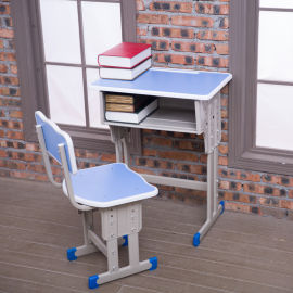 学校单人双人课桌椅中小学生家用小学教室升降桌椅培训批发学习桌