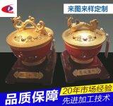 東莞沃昌 鋅合金工藝品加工 鑄造聚寶盆擺飾件