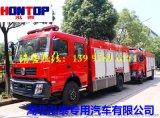 国五东风6吨水罐消防车