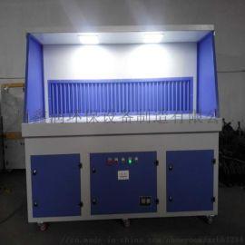 打磨平台多功能除尘工作台立式柜吸尘柜抛光砂轮