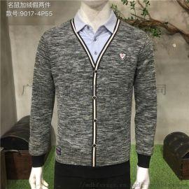 廣州高檔一線品牌正品休閒商務男裝貨源廠家直銷供應