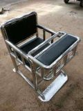 钢管审讯椅 实木木质审讯桌椅