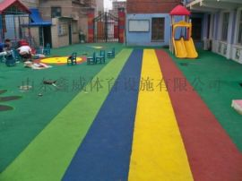 EPDM现浇地面,现浇EPDM塑胶地坪幼儿园