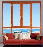 135系列豪华断桥铝窗纱一体平开窗