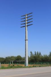 万邦10KV-220KV电力钢杆及钢桩基础