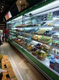 超市风幕柜盟尔电器厂家直销水果保鲜柜