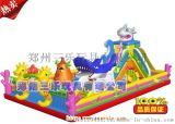 山西太原大型充气滑梯儿童游乐园