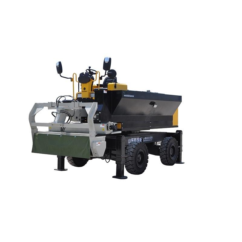 路得威RWSL12B金刚砂撒料机均匀撒料自动上料