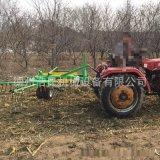 苜蓿攤曬機 稻穀秸稈牧草攤摟一體機