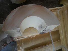 阻燃聚氨酯管託保冷管殼發泡保溫板價格