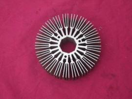 大型铝型材散热片,铝制太阳花,铝型材散热器