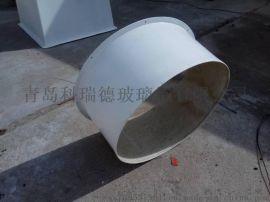 青岛科瑞德玻璃钢法兰方形三通厂家直销