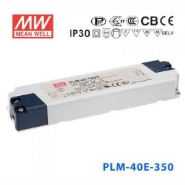 LED室内照明**明纬 PLM-40E-350电源