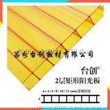 瀋陽直銷透明PC蜂窩陽光板全新料生產臺創品牌