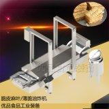膜片生產線 脆片油炸機 自動膜片油炸機