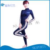 厂家直销女款连体透气速干泳衣沙滩冲浪衣