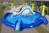 夏季遊樂好項目充氣水上樂園