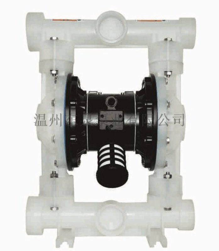 QBY3气动隔膜泵 工程塑料 铝合金 不锈钢 铸铁