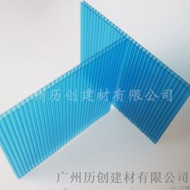 6mmpc阳光板 中空采光板 隔热保温 十年质保