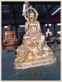 正圆铜佛像雕刻,铜雕地藏王菩萨佛像制造生产厂家