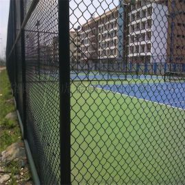 上海網球場設施圍網 體育場圍欄網 勾花網護欄網